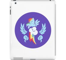 Rainbow Dash Cutie Mark Logo iPad Case/Skin