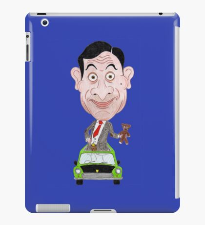 Funny Drawing Cartoon Caricature TV iPad Case/Skin