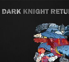 Batman, a Dark Knight Returns Collage by aWinterMute