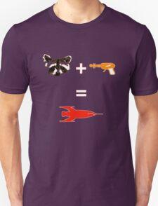 Raccoon + Laser gun = Rocket T-Shirt