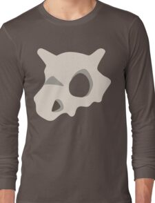 Cubone skull Long Sleeve T-Shirt