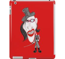 Dark Rock Metal 90's Funny Caricature iPad Case/Skin