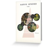 Native Species Greeting Card