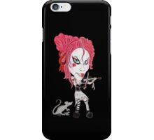 Gothic Punk Alternative Rock Funny Caricature iPhone Case/Skin