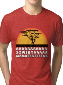 the king lion Tri-blend T-Shirt