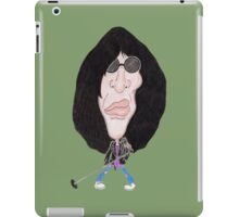 Classic Punk Rock 80's Funny Caricature iPad Case/Skin