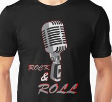Rock and Roll, microphone Unisex T-Shirt