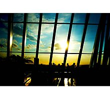 Silhouetted Photographic Print