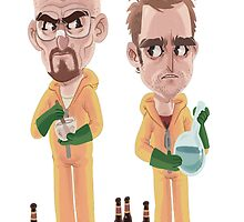 Breaking Bad - Jesse e Walter by luisfrfr