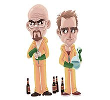 Breaking Bad - Jesse e Walter Photographic Print