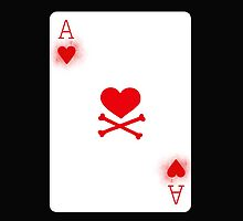 Ace of Heart Poker Card by MMPhotographyUK