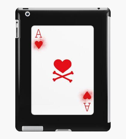 Ace of Heart Poker Card iPad Case/Skin