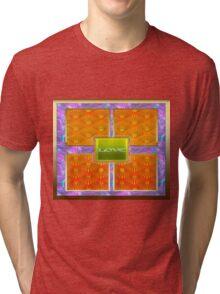Vintage Elegant desing gifts Tri-blend T-Shirt