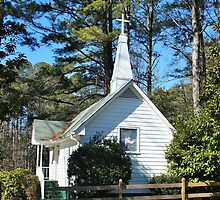Small Church  at Acworth Beach by gt6673