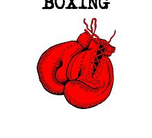 I'd Rather Be Boxing by kwg2200