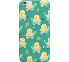 Cute Flowery Turtle Pattern iPhone Case/Skin
