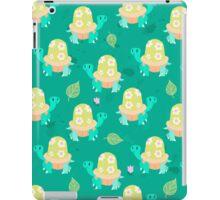 Cute Flowery Turtle Pattern iPad Case/Skin