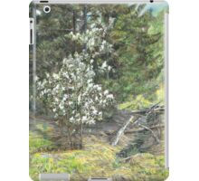 spring in the wood iPad Case/Skin