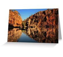 GORGE(ous) REFLECTIONS Greeting Card