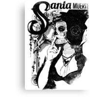 Santa Muertos Canvas Print