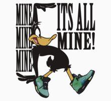 Daffy in Oregon Duck Jordans V by DatDudeBT