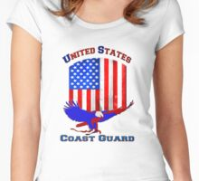 United States Coast Guard Women's Fitted Scoop T-Shirt