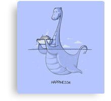 Happinessie Canvas Print