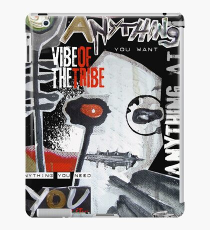 vibe of the tribe iPad Case/Skin