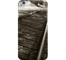 Railroad Tracks iPhone Case/Skin