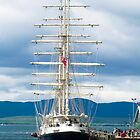 Ship, Sailing vessel, SV Tenacious, Docked, North pier, Oban  by Hugh McKean