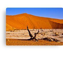 Dead Vlei (Deadvlei) Sossusvlei Namibia Africa lanscape Canvas Print