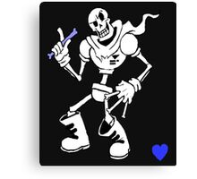 Papyrus from undertale Canvas Print