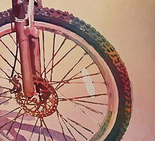 The Wheel in Color by JennyArmitage