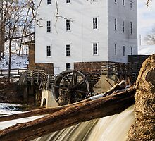 Mansfield Roller Mill in Indiana by Kenneth Keifer