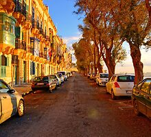 Street In Valletta by sgrixti