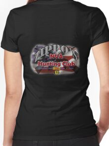 Zippo's NVA Hunting Club Women's Fitted V-Neck T-Shirt