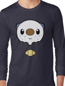 Oshawott Face Long Sleeve T-Shirt