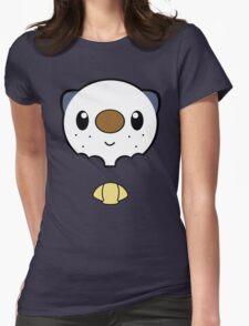 Oshawott Face Womens Fitted T-Shirt