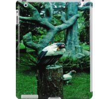 birds locked. iPad Case/Skin