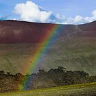 Rainbow over 5150 meter high Kongmaru La by MichaelBr