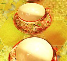 Tea Time 4 by Shawna Rowe