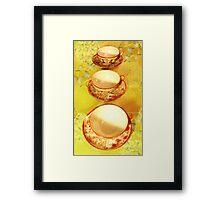 Tea Time 4 Framed Print