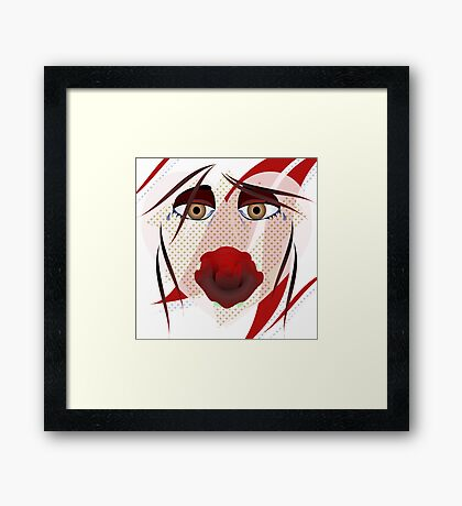 Broken Hearted Framed Print