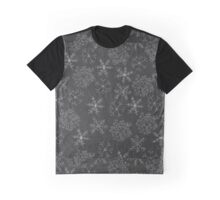 Chalkboard Snowflakes Graphic T-Shirt