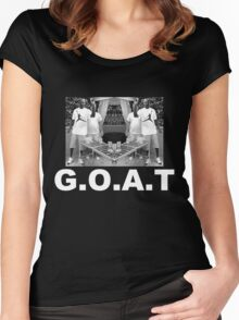 MJ GOAT Women's Fitted Scoop T-Shirt