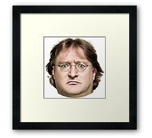 Lord Gaben Framed Print