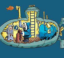Professor MacGuffin's Submarine by Steve Zieser