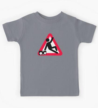 Caution: Breakdancing  Kids Tee