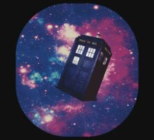 TARDIS in Space: Version 1 by SociallyAwkward