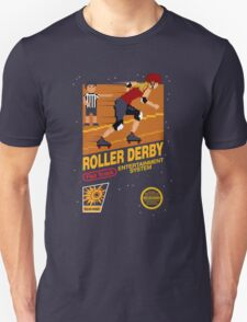 8-bit Roller Derby T-Shirt